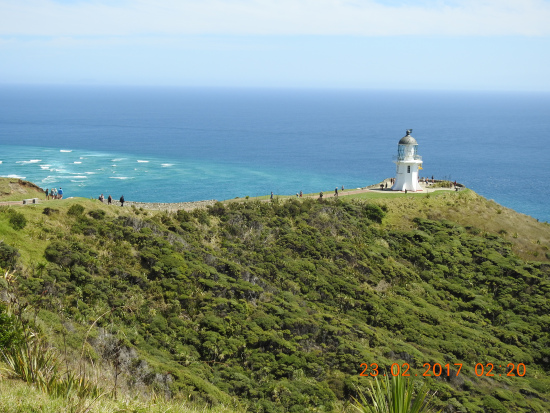 Cape Reinga Lighthouse most northerly tip of NZ